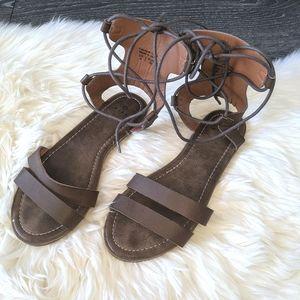 MISK - Vegan Leather Gladiator Sandal
